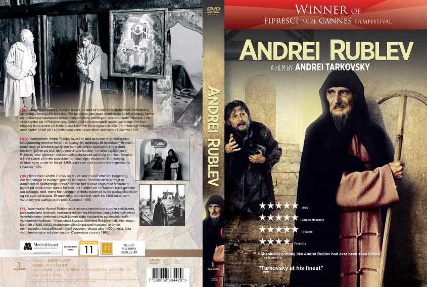 Andrei Rublev - nordic retail DVD